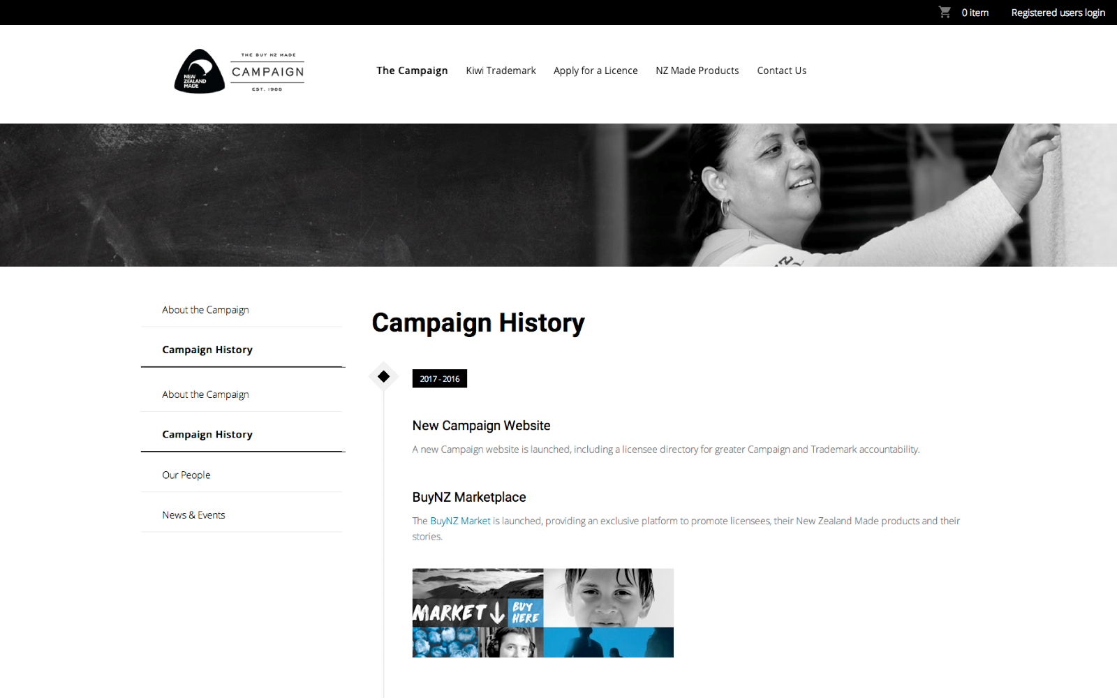 Campaign History