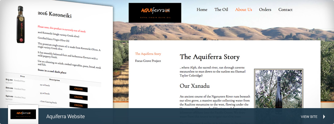 Aquiferra Virgin Olive Oil